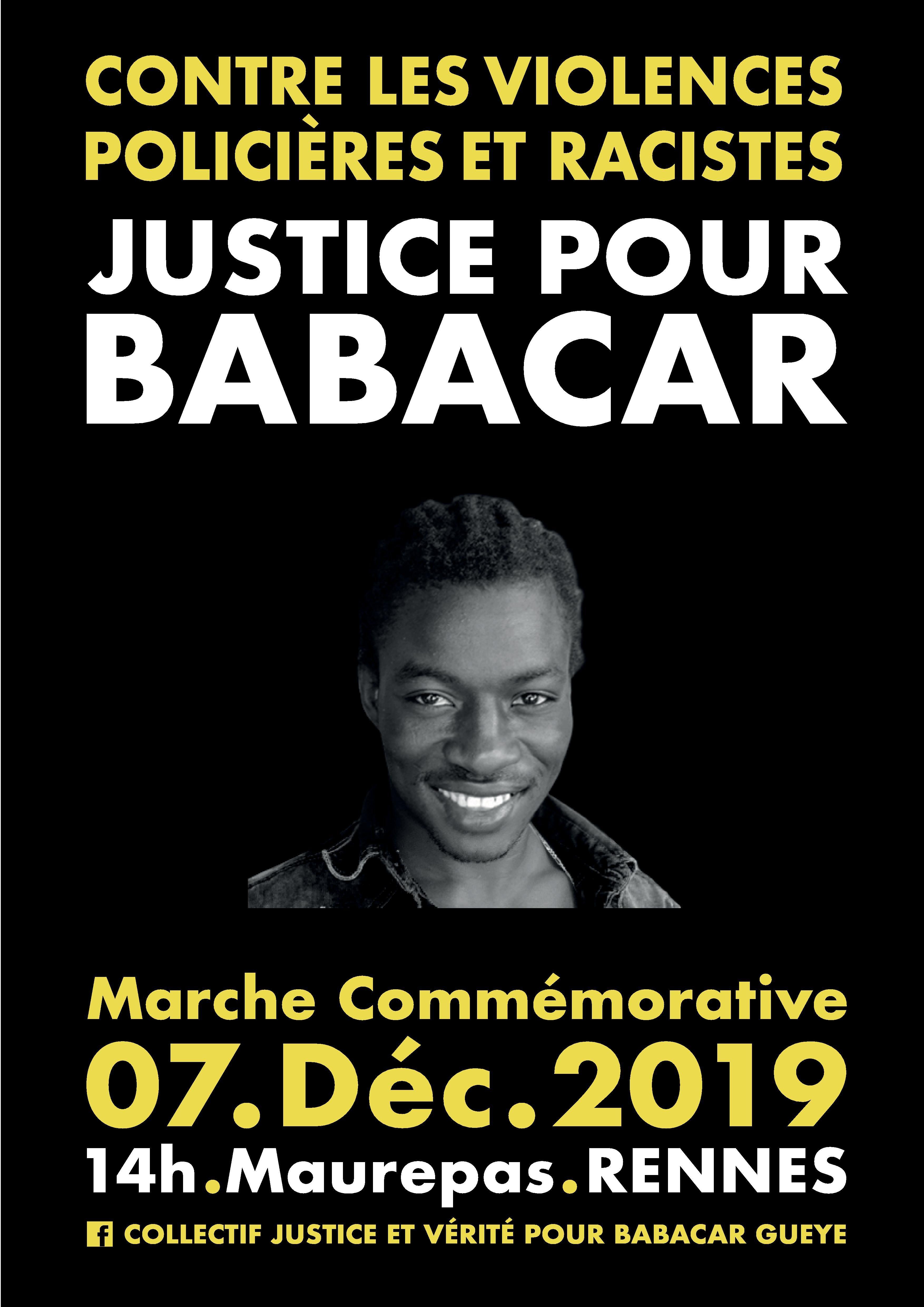 Affiche Marche du 7 Décembre 2019